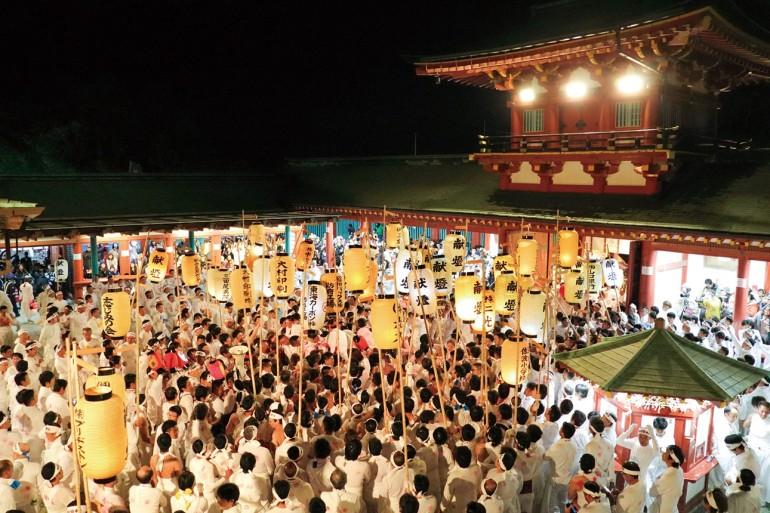 防府天満宮御神幸祭(裸坊祭) Hofu Tenmangu Shrine Gojinkosai (Hadakabo Festival)