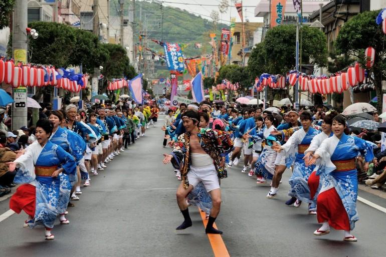 牛深ハイヤ祭り Ushibuka Haiya Festival
