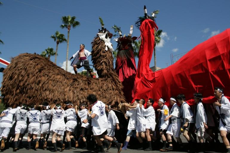 うわじま牛鬼まつり Uwajima Ushioni Festival