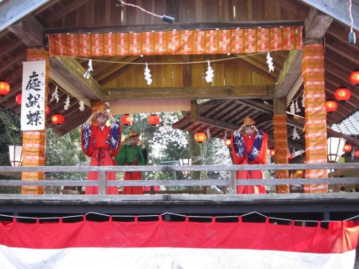 遠州の小京都 森町の舞楽