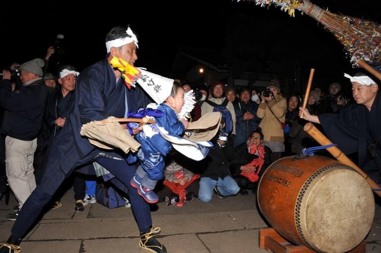 赤塚諏訪神社田遊び