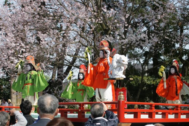 糸魚川・能生の舞楽