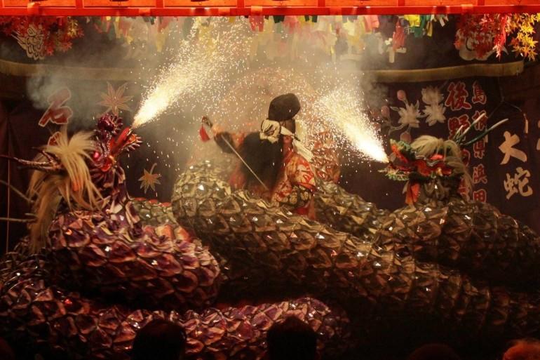 日本石見神楽大会 Japan Iwami Kagura Festival