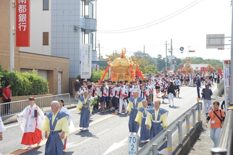 鴨都波神社 秋季大祭