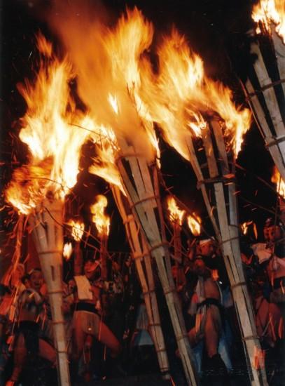 鞍馬の火祭 Kurama Fire Festival
