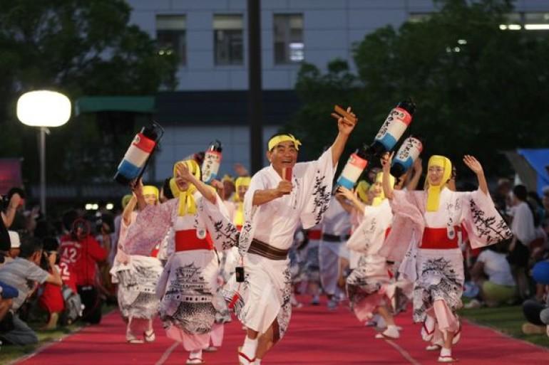 三原やっさ祭り Mihara Yassa Festival